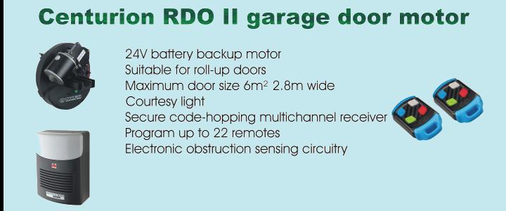 Centurion RDO II Roll-up garage door motor